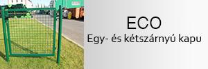 ECO egyszárnyú és kétszárnyú kapu