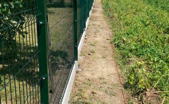 Táblás kerítés MERKUR PVC
