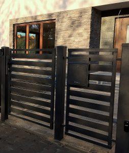 Modern Panel kerítés - MPO - MALACHIT