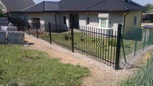 Modern Panel kerítés - MPO - SMARAGD - /P/
