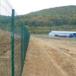 ponthegesztett kerítés