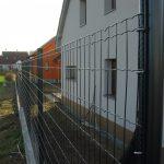 ponthegesztett kerítés antracitszürke