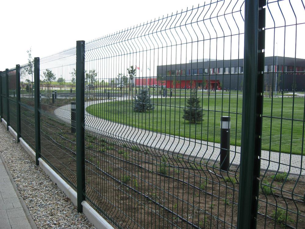 táblás kerítésrendszer