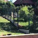 Merkur PVC táblás kerítés Miskolc