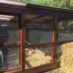 Ponthegesztett háló madárröptetőhöz
