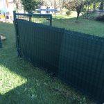 Táblás kerítés Mályi