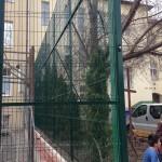 Táblás kerítésrendszer + kapu Miskolc