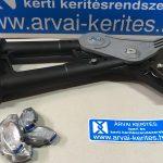 Gripple fogó feszítőrendszerek kiépítésére, szőlőrendszerhez, huzal drót toldáshoz GRIPPLE SMALL, MEDIUM, LARGE