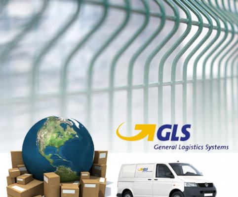 Kerítés rendelés és szállítás a GLS futárszolgálat segítségével