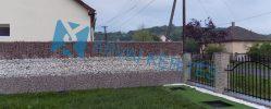 Tekintse meg milyen GABION kerítés készült a nálunk vásárolt anyagokból!