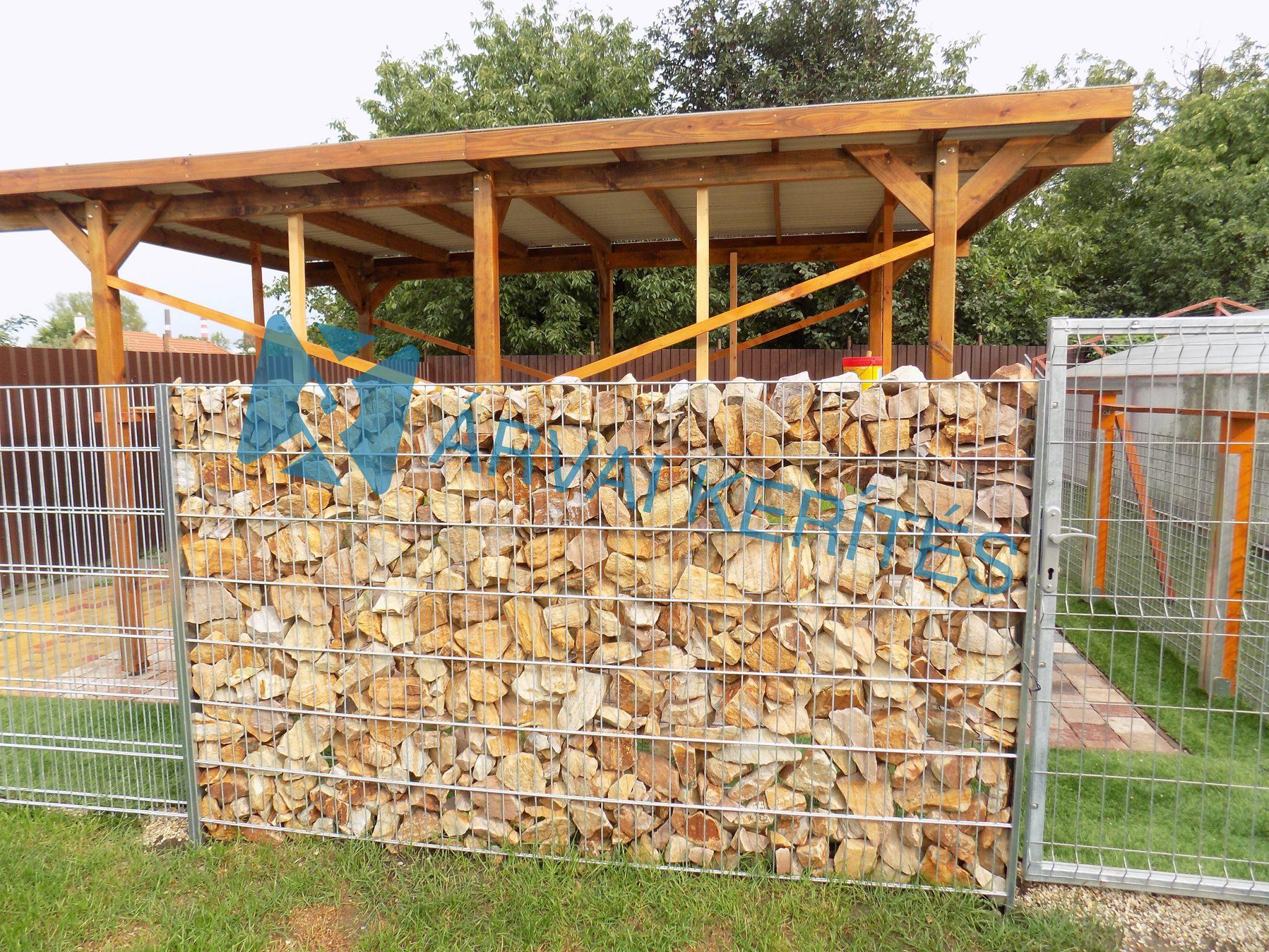 Gabion kerítések, kőkerítés, kőkosár, táblás kerítések